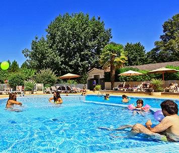camping piscine landes