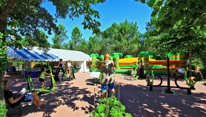 fitness camping l'Oceane