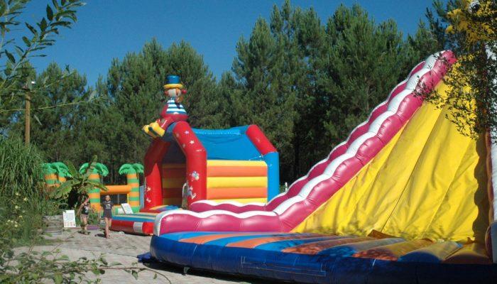 Jeux gonflables camping Océane