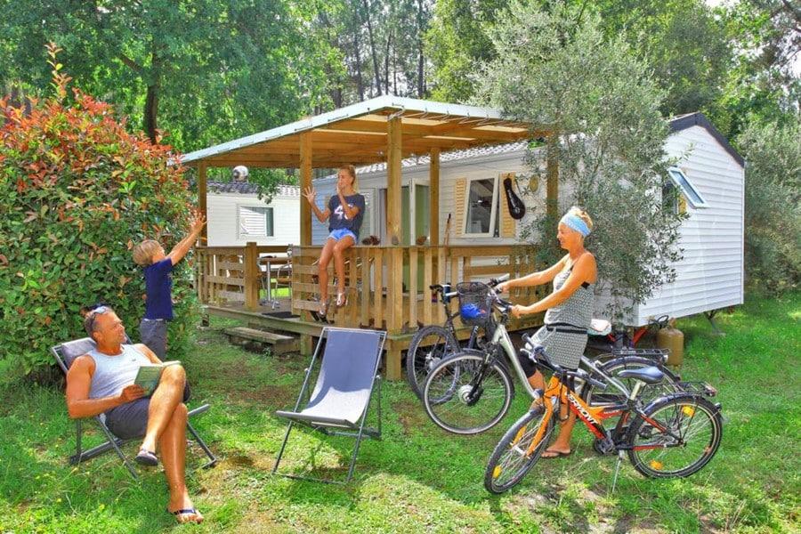 Location mobil home confort Landes