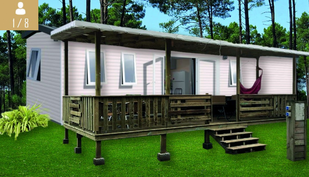 location mobil home landes bora