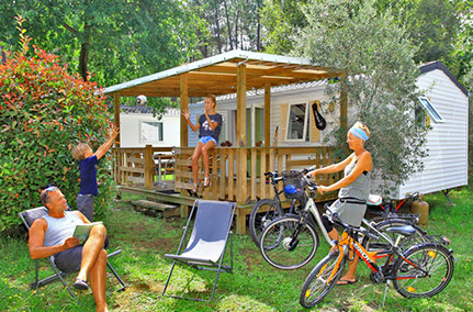 location mobil home landes confort