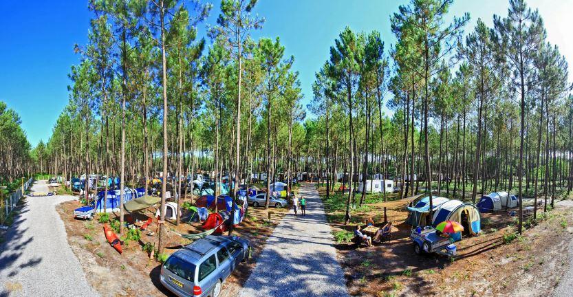 panorama camping Landes