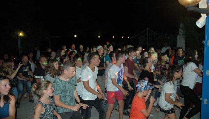 soirée dansante au camping Océane
